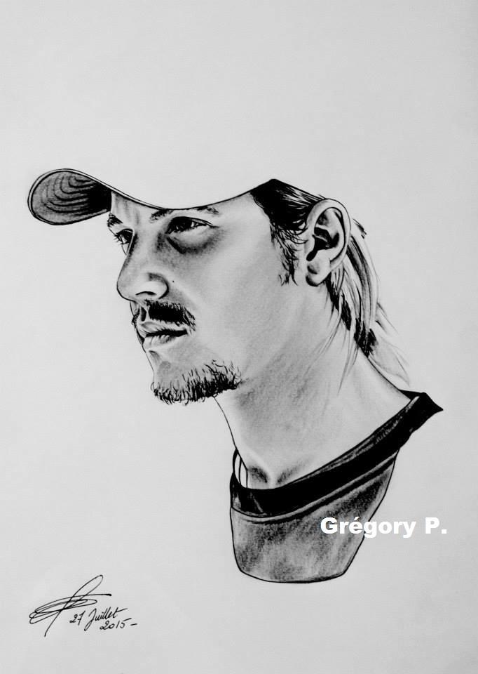 Nekfeu by greg-drawings